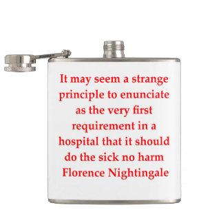 florence nightingale hip flask