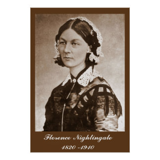 Florence Nightingale Nurse Poster