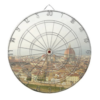 Florence or Firenze Italy Cityscape Dartboard