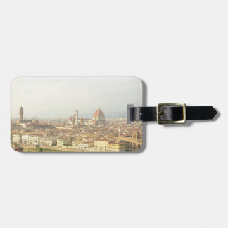 Florence or Firenze Italy Cityscape Luggage Tag
