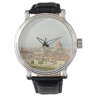 Florence or Firenze Italy Cityscape Watch