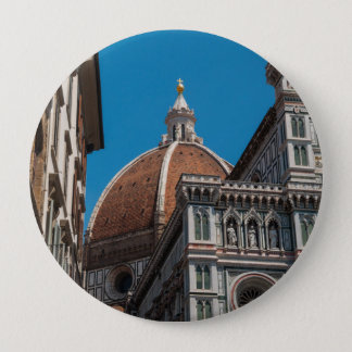 Florence or Firenze Italy Duomo 10 Cm Round Badge