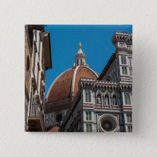 Florence or Firenze Italy Duomo 15 Cm Square Badge