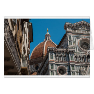 Florence or Firenze Italy Duomo Card