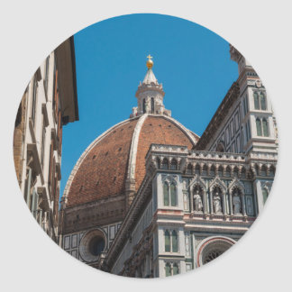 Florence or Firenze Italy Duomo Classic Round Sticker