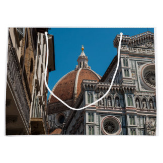 Florence or Firenze Italy Duomo Large Gift Bag