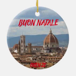 Florence Panoramic Christmas Ornament
