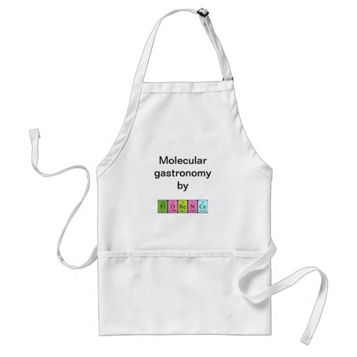 Florence periodic table name apron