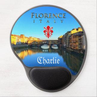 Florence - Ponte Vecchio Gel Mouse Pad