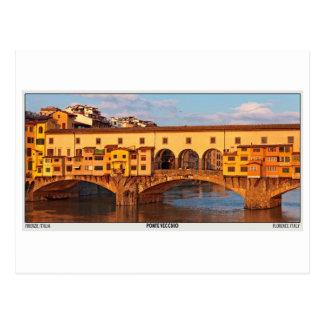 Florence - Ponte Vecchio Postcard