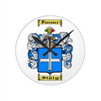 Florence Round Clock