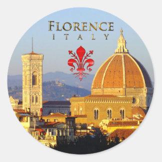 Florence - Santa Maria del Fiore Classic Round Sticker