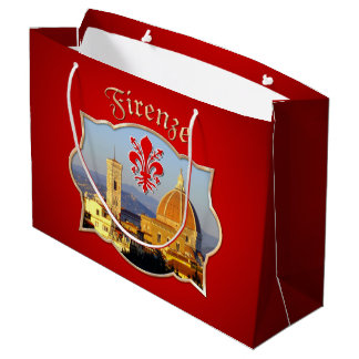 Florence - Santa Maria del Fiore Large Gift Bag