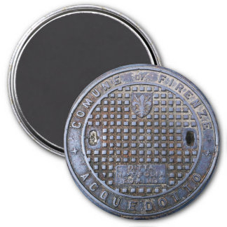 Florence Sewer Cover Magnet