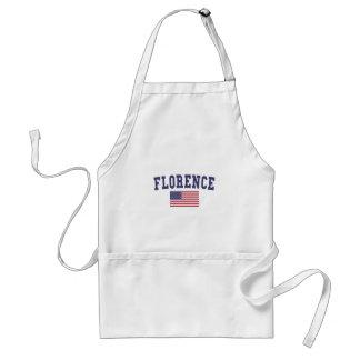 Florence US Flag Standard Apron