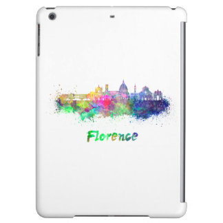 Florence V2 skyline in watercolor
