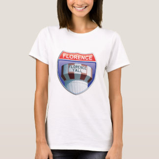 Florence Y'all Water Tower Baby Doll T T-Shirt