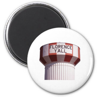 Florence Y'all Water Tower Magnet