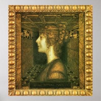 Florentine by Franz von Stuck Posters