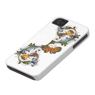 Florentine Floral Blackberry Bold Case-Mate iPhone 4 Cases