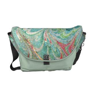 Florentine Pastel Commmuter Bag Messenger Bag