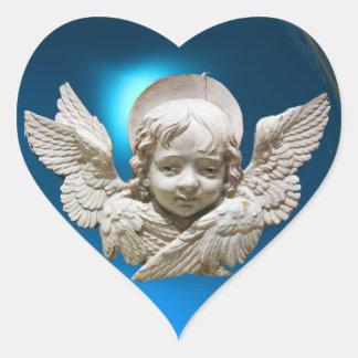 FLORENTINE RENAISSANCE ANGEL HEART STICKERS