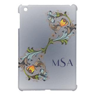Florentine Renaissance Painting Monogram iPad iPad Mini Covers