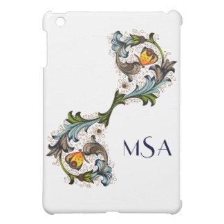 Florentine Renaissance Painting Monogram iPad iPad Mini Cover