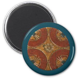 Florentine Round Magnet