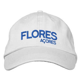 Flores* Açores Adjustable Hat Embroidered Baseball Caps