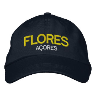 Flores Azores Embroidered Hat