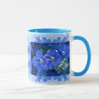 'Flores Azuis' (Blue Flowers) Mug