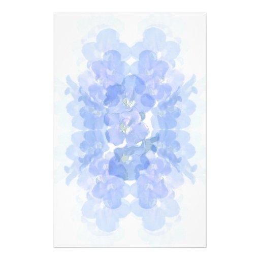 """"""" Flores Azuis"""" stationary Stationery Design"""