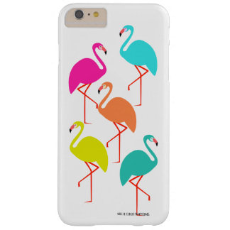 Florescent Flamingos Barely There iPhone 6 Plus Case