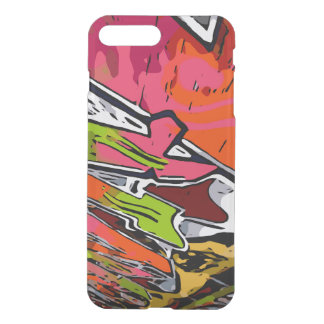 Florescent Funky Graffiti Abstract iPhone 7 Plus Case