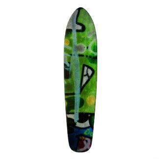 Florescent Graffiti Funk Skate Boards