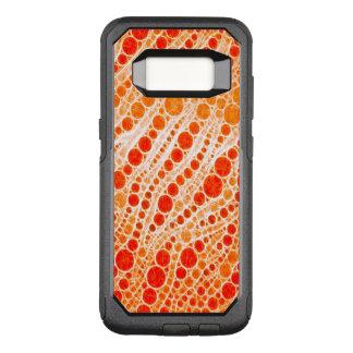 Florescent Orange Zebra Abstract OtterBox Commuter Samsung Galaxy S8 Case