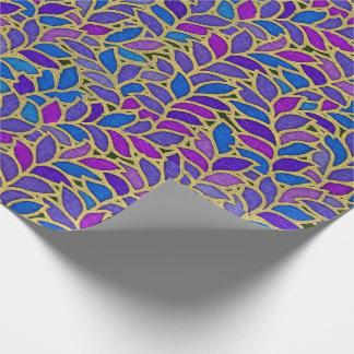 Floresta blue, violet and gold