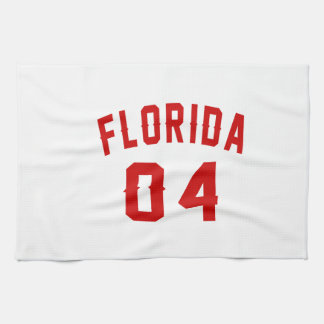Florida 04 Birthday Designs Kitchen Towels