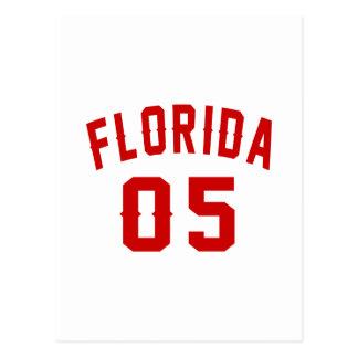 Florida 05 Birthday Designs Postcard