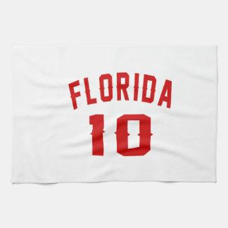 Florida 10 Birthday Designs Hand Towel
