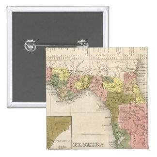 Florida 12 15 cm square badge