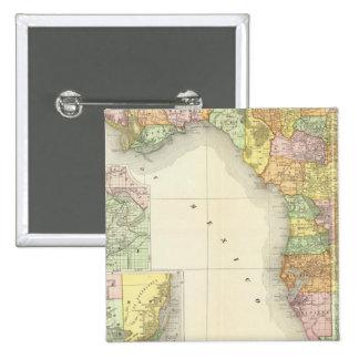 Florida 13 15 cm square badge