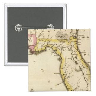 Florida 15 15 cm square badge