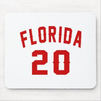 Florida 20 Birthday Designs Mouse Pad