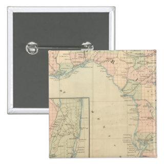 Florida 2 15 cm square badge