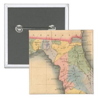 Florida 3 15 cm square badge