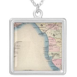 Florida 3 silver plated necklace