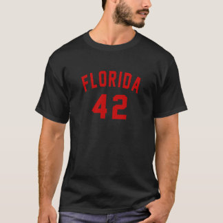Florida 42 Birthday Designs T-Shirt