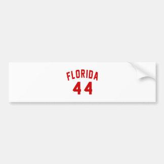 Florida 44 Birthday Designs Bumper Sticker